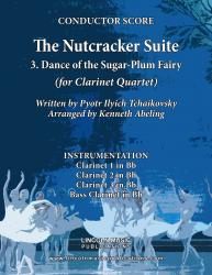 Cover art for Clarinet 3 in Bb part from The Nutcracker - 3. Dance of the Sugar-Plum Fairy (for Clarinet Quartet)