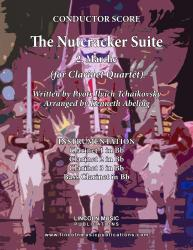 Cover art for Clarinet 2 in Bb part from The Nutcracker - 2. Marche (for Clarinet Quartet)