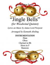 Cover art for Jazz Christmas - Jingle Bells (Woodwind Quintet)