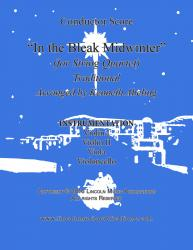 Cover art for Viola part from In the Bleak Midwinter (for String Quartet)