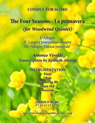 Cover art for Horn in F part from Vivaldi - The Four Seasons - La Primavera (for Woodwind Quintet)
