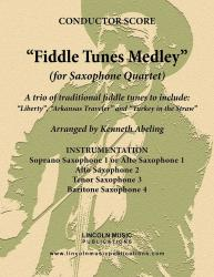 Cover art for SDH SQ4 03 TEN part from Fiddle Tunes Medley (Sax Quartet SATB or AATB)