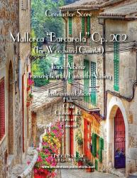 Cover art for Clarinet in Bb part from Albeniz - Mallorca Barcarola (Woodwind Quintet)