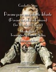 Cover art for Clarinet in Bb part from Ravel - Pavane For a Dead Princess (Woodwind Quartet)