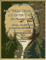 "Cover art for Oboe part from Bach - Aria ""sulla quarta corda"" - ""Air on the G-String"" (Woodwind Quartet)"