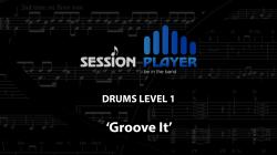 Cover art for Groove it part from Drums Level 1 - Groove It