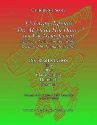 "Cover art for Flute part from El Jarabe Tapatío - ""Mexican Hat Dance"" (for Woodwind Quintet)"