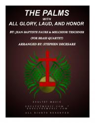 Cover art for phb4part part from The Palms (with All Glory, Laud, and Honor) (for Brass Quartet)