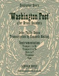 Cover art for March - Washington Post (Brass Quintet)