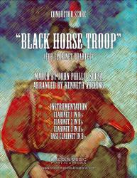 Cover art for March - Black Horse Troop (Clarinet Quartet)
