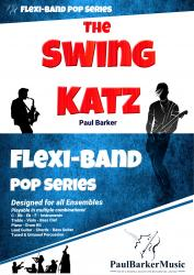 Cover art for Part 2 in Bb part from The Swing Katz  (Flexi-Band Pop Series)