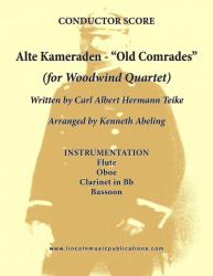 "Cover art for March - Alte Kameraden ""Old Comrades"" (Woodwind Quartet)"