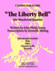 Cover art for Oboe part from March - The Liberty Bell (Woodwind Quartet)