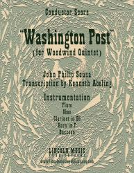 Cover art for March - Washington Post (Woodwind Quintet)