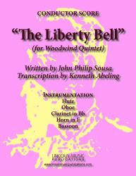 Cover art for Flute part from March - The Liberty Bell (Woodwind Quintet)