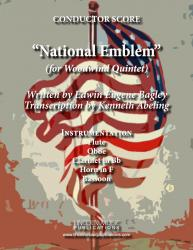 Cover art for March - National Emblem (Woodwind Quintet)