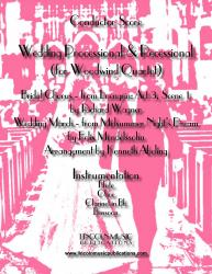 Cover art for Wedding Processional & Recessional (Woodwind Quartet)