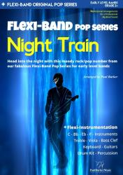 Cover art for Night Train-Drum Set part from Night Train (Flexi-Band Score & Parts)