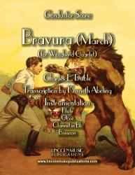 Cover art for Oboe part from March - Bravura (for Woodwind Quartet)