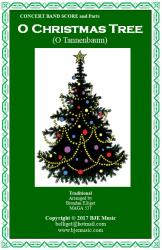 Cover art for Acoustic Bass part from O Christmas Tree (O Tannenbaum) - Concert Band