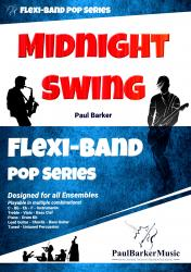 Cover art for Part 1 in Bb part from Midnight Swing (Flexi-Band Pop Series)