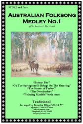 Cover art for Oboe part from Australian Folksong Medley No. 1 - Orchestral Version