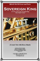 Cover art for 2nd  Horn part from Sovereign King (To Jesus Christ Our Sovereign King) - Brass Band