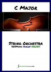 Cover art for C Major Warm up for String Orchestra - Score