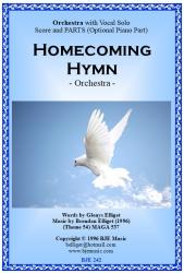 Cover art for Violin II part from Homecoming Hymn - Orchestra with Solo Voice