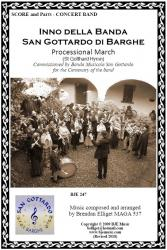 Cover art for Vibraphone (Glockenspiel) part from Inno della Banda San Gottardo di Barghe - Processional March (St. Gotthard Hymn) - Concert Band