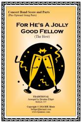 Cover art for Oboe part from For He's A Jolly Good Fellow (The Host) - Concert Band