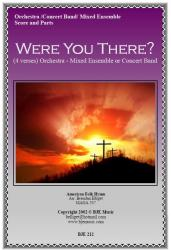 Cover art for Trumpet 2 part from Were You There?  (When They Crucified My Lord) - Mixed Ensemble