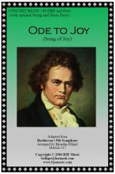 Cover art for Horn 1 in F part from Ode to Joy (Song of Joy) - Concert Band
