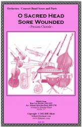 Cover art for Harp part from O Sacred Head Sore Wounded   - Passion Chorale