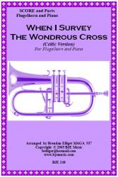 Cover art for When I Survey The Wondrous Cross (Celtic Version) - Flugelhorn  or Trumpet Solo with Piano