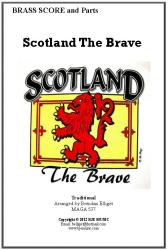 Cover art for 1st Tenor Horn part from Scotland The Brave (Brass Band)