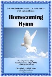 Cover art for Alto Sax part from Homecoming Hymn - Concert Band