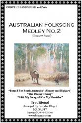 Cover art for Tenor Saxophone part from Australian Folksong Medley No. 2 - Concert Band