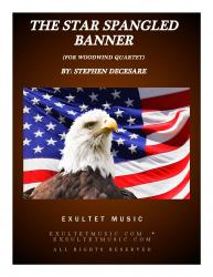Cover art for Star Spangled Wood 4 Parts part from The Star Spangled Banner (for Woodwind Quartet)