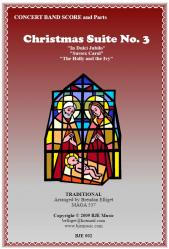 Cover art for Alto Saxophone 1 part from Christmas Suite No.3 for Concert Band