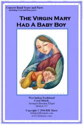 Cover art for F Horns 2  3 part from The Virgin Mary Had A Baby Boy (Christmas)- Concert Band