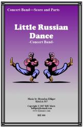 Cover art for Trombone 2 part from Little Russian Dance - Concert Band