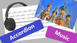 Cover art for Vologda - Accordion 2 part from VOLOGDA (Accordion orchestra)