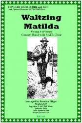 Cover art for 3rd Clarinet in B^b part from Waltzing Matilda Version 3 (4 Verse Version) - Concert Band with SATB Choir