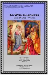Cover art for Glockenspiel part from As With Gladness (Men Of Old) Christmas - Concert Band