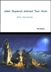 Cover art for Harp part from While Shepherds Watched Their Flocks