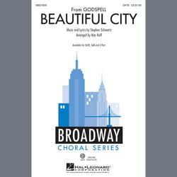 Cover art for Beautiful City (from Godspell) (arr. Mac Huff)