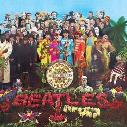 Cover art for Sgt. Pepper's Lonely Hearts Club Band