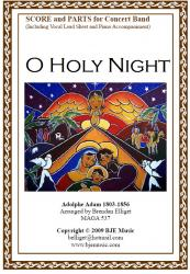 Cover art for Alto Sax 1 part from O Holy Night (Christmas) - Concert Band