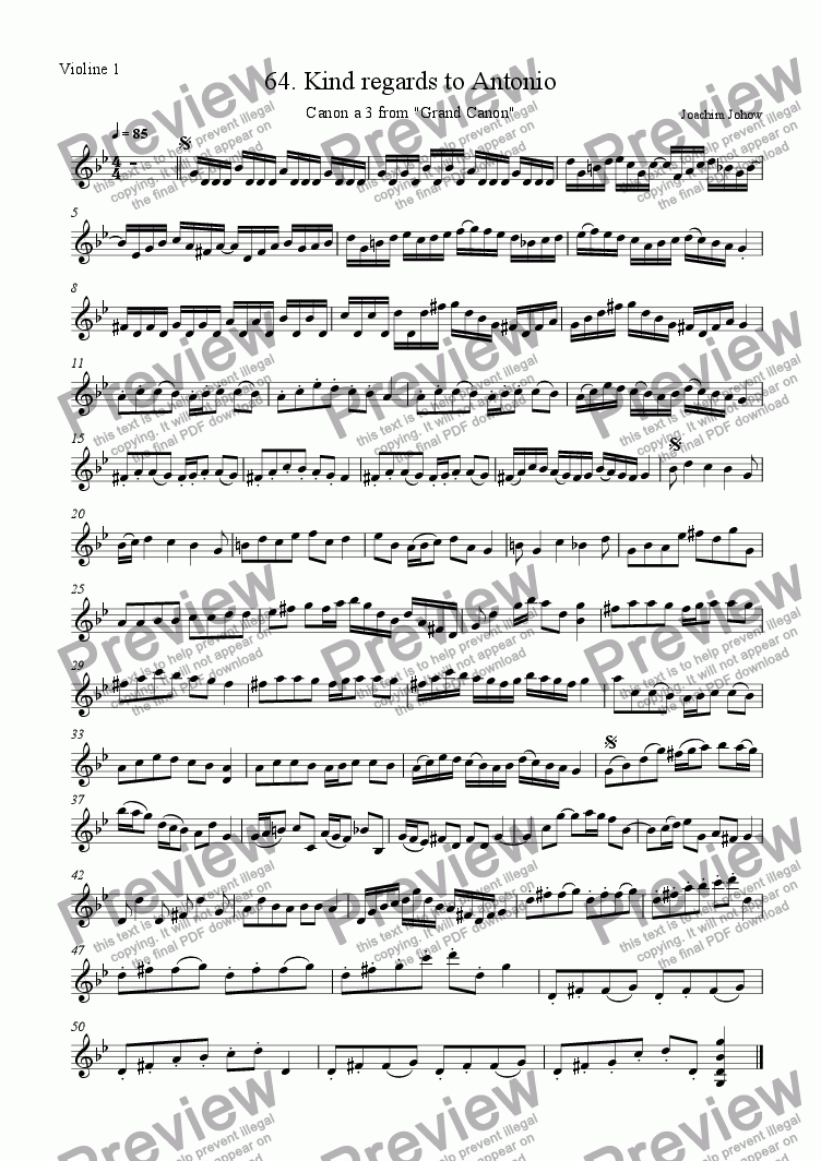 page one of the Vl part from Grand Canon 64 (Kind regards to Antonio - 3Vl)